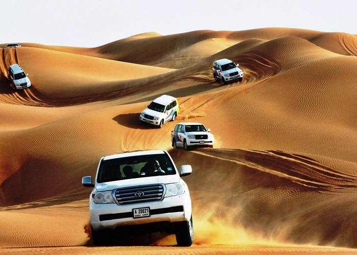 Adventure with Dubai Desert Safari