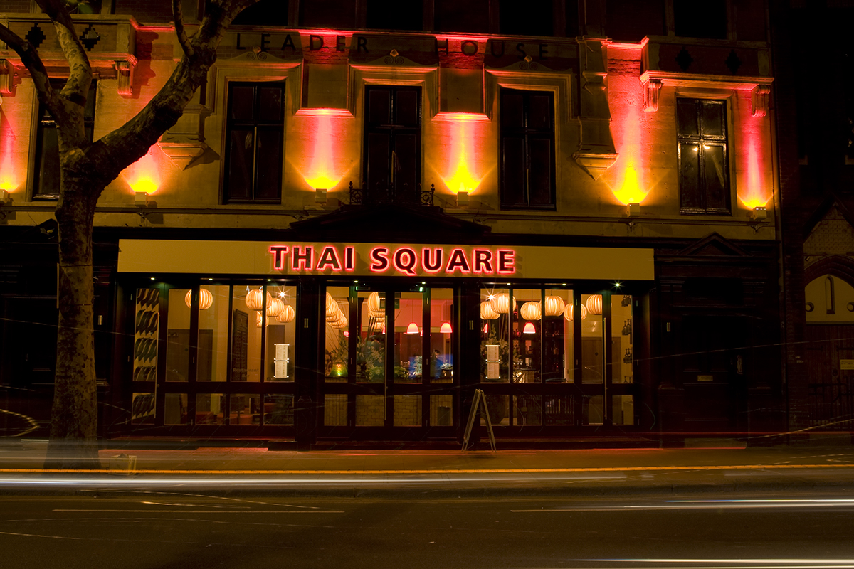 What Makes Covent Garden's Thai Square Restaurant Highly Popular in the UK?