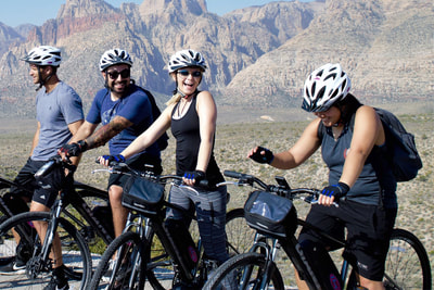 Electric bikes Tours to fully explore Red Rock Canyon