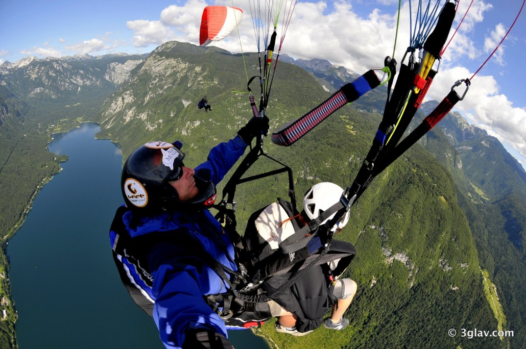 Join us at paragliding Bled adventure